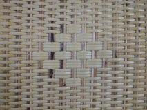 Geweven bamboestroken Stock Afbeeldingen