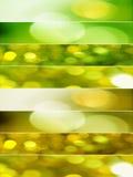 Geweven bannerachtergronden Stock Foto