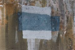 Geweven Concrete Muur 0015 stock fotografie