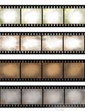 Geweven de filmstrook van Grunge Royalty-vrije Stock Afbeelding
