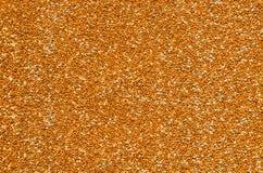 Geweven die achtergrond van gierst op de oppervlakte wordt verspreid Stock Foto