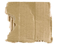 Geweven gescheurd karton Royalty-vrije Stock Foto
