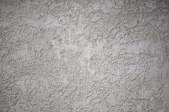 Geweven geweven grijze ongelijke muur als achtergrond met aders stock afbeelding