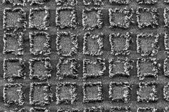 Geweven grijze vierkante draad Stock Foto's