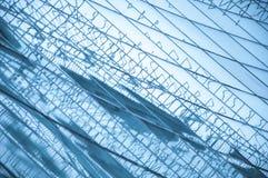 Geweven grote vensters Royalty-vrije Stock Foto