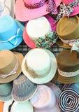 Geweven hoed Stock Foto's
