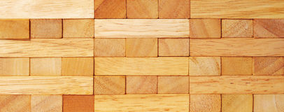 Geweven hout Royalty-vrije Stock Foto's