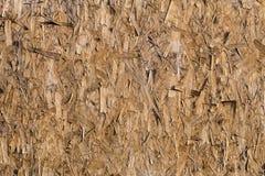 Geweven houten fornuis uitgedreven zaagsel stock afbeeldingen