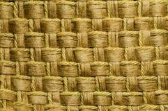 Geweven kabel en waterhyacint Stock Afbeelding