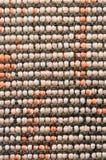 Geweven katoenen textiel Stock Afbeelding