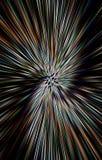 Geweven kleurrijke achtergrond De stralen divergeren in een spiraal van het midden aan de randen vector illustratie