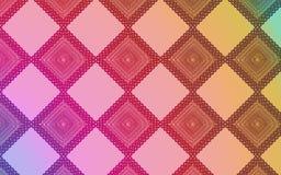 Geweven kleurrijke ruitenachtergrond vector illustratie
