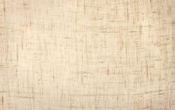 Geweven linnenachtergrond Stock Afbeelding