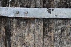 Geweven organische houten oppervlakteachtergrond Stock Foto's