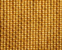 Geweven patroon als achtergrond van stof van verlichte lampschaduw royalty-vrije stock afbeelding