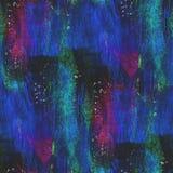 Geweven purper, blauw, groen naadloos concept stock illustratie