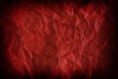 Geweven rode achtergrond Royalty-vrije Stock Afbeeldingen