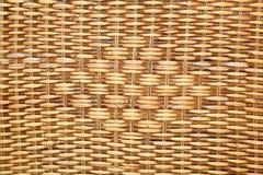 Geweven rotan met natuurlijke patronen voor mand in T Stock Afbeeldingen