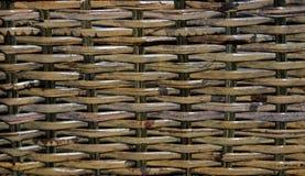 Geweven rotan van het bamboe Royalty-vrije Stock Foto