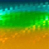 geweven steen Abstract thema Grungeverf op achtergrond Geschilderde geweven achtergrond De kleur bevlekte digitaal document Geste stock illustratie