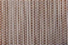Geweven Textuur Donkere Bruin Stock Foto's