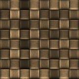Geweven van de Mand Abstracte Textuur Als achtergrond Stock Afbeelding