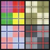 Geweven vectorpatroon Stock Foto