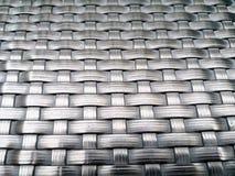 Geweven vezel naadloos patroon, die als achtergrond gebruiken Royalty-vrije Stock Foto