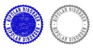 Geweven Watermerken van de Grunge de BIPOLAIRE WANORDE vector illustratie