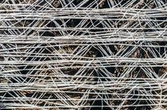Geweven zak met de achtergrond van de brandhoutclose-up Royalty-vrije Stock Fotografie