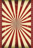 Geweven zonnestraalvlag Royalty-vrije Stock Foto's