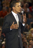 Gewählter Präsident Barack Obama Lizenzfreie Stockbilder