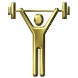 Gewicht-Anheben vektor abbildung