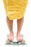 Gewicht-Check Lizenzfreie Stockfotografie
