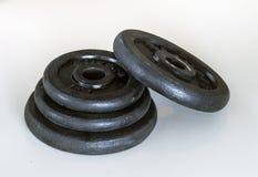 Gewicht dumbells Stockbilder