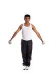 Gewicht-Raum-Training Stockbild