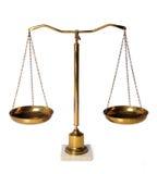 Gewicht-Skalen Lizenzfreie Stockfotos