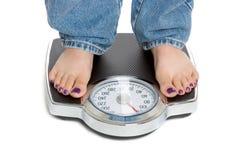 Gewicht-Verlust Lizenzfreies Stockfoto