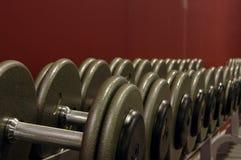 Gewichte Stockbild