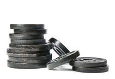 Gewichten Royalty-vrije Stock Foto's