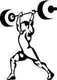 Gewichtheben Stockfotografie