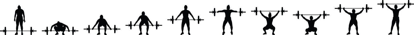 Gewichthebenmädchen stockbilder
