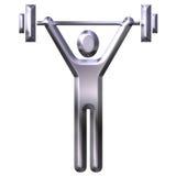 Gewichtheffen Royalty-vrije Stock Afbeelding