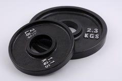 Gewichtplatten Stockfotografie