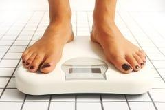 Gewichtprüfung Lizenzfreies Stockfoto