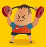 Gewichtsanheben Stockfotos