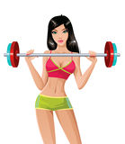 Gewichtsanheben Lizenzfreie Stockbilder