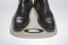 Gewichtscontrolepersoon Stock Afbeeldingen