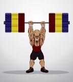 Gewichtsheftoestel Royalty-vrije Stock Afbeelding