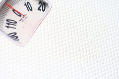Gewichtskala Stockfotografie